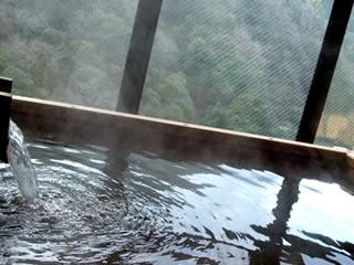源泉掛け流し絶景の温泉