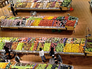 海外の巨大スーパーマーケット