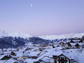 スキー場のある町