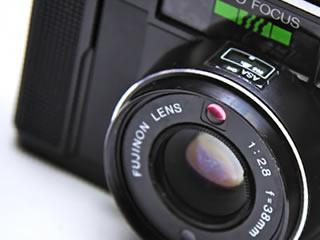 マイナンバーカードに使う子供の写真を取るためのカメラ