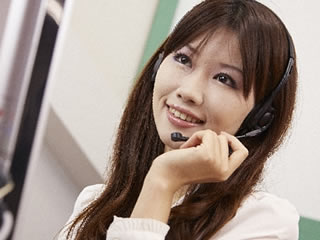 コールセンターに就職が決まった主婦