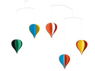 モビール 5つの気球