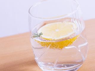 運動後に飲みたいレモン水