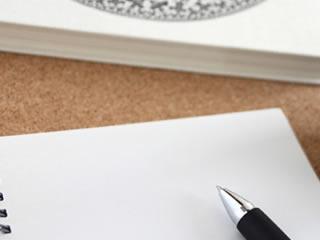 離婚届を記入するため購入されたペン