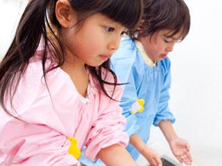 幼稚園の児童