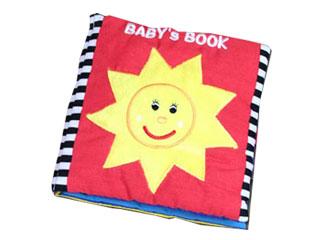 赤ちゃん布絵本はじめてのほん Baby's Book(おひさま)