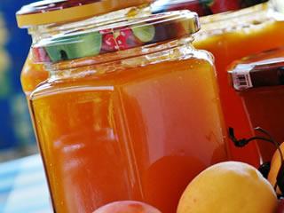 増粘多糖類が使用されている杏ジャム