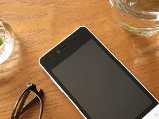 家計簿アプリがインストールされたスマートフォン