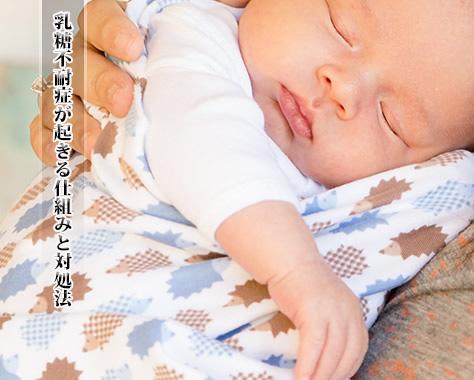 【乳糖不耐症と母乳育児】乳糖不耐症の原因&母乳継続の可否
