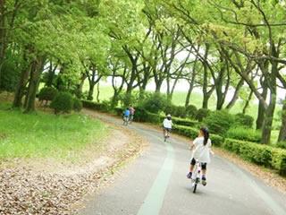 安全に自転車が乗れる交通公園