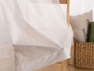 ミラー・花粉キャッチレースカーテン