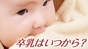 卒乳はいつ?みんなの平均卒乳時期と卒乳の目安