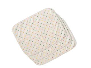 水を通しにくいパイル素材のおむつ替えシート同柄3枚セット