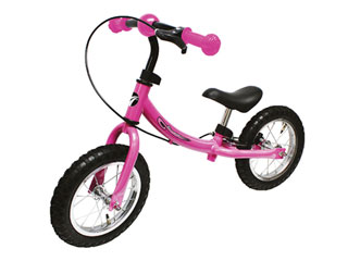 AVIGO エアータイヤ ウォーキングバイク (ピンク)