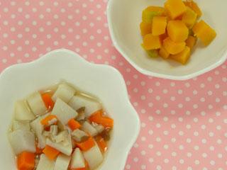 野菜の離乳食