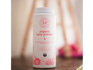 honest organic baby powder