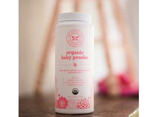 honest organic baby powder