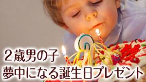 2歳の誕生日プレゼントで男の子が実際に熱中した15選