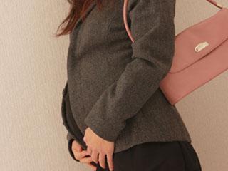 出勤する妊婦