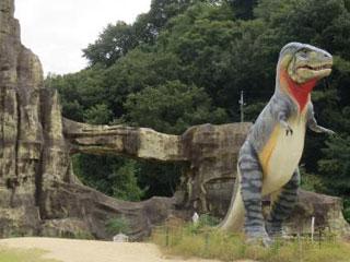 笠岡市カブトガニ博物館 恐竜公園