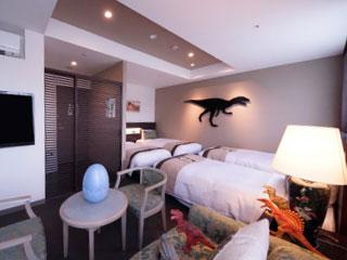 リバージュアケボノの恐竜ルーム