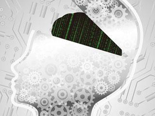 数字が流れる人間の脳
