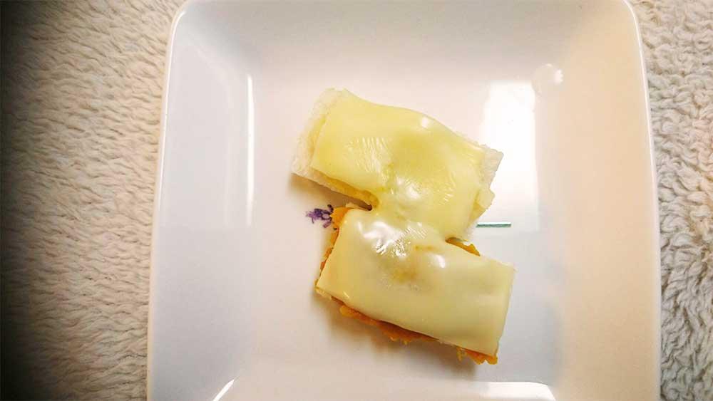 手作りチーズサンド