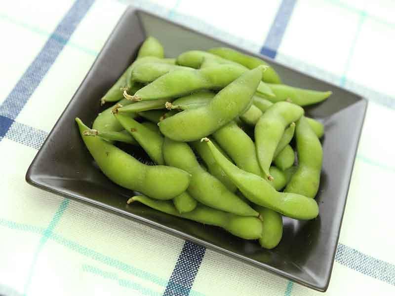 葉酸が豊富な枝豆