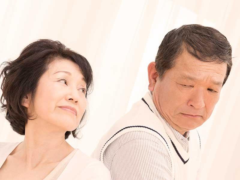 夫源病の老夫婦
