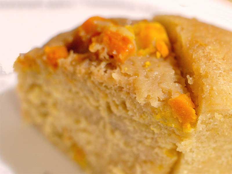 かぼちゃ蒸しパンケーキ