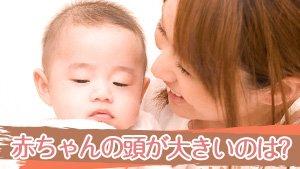 赤ちゃんの頭が大きいのは病気?遺伝?原因と受診の目安