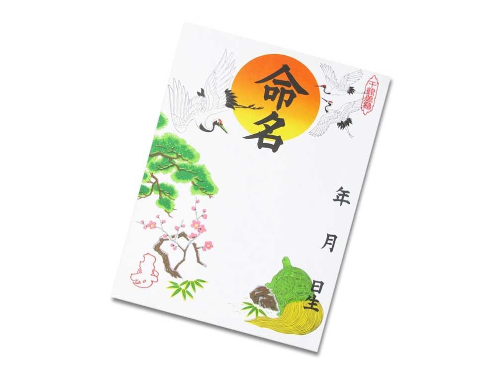 飯田水引命名紙