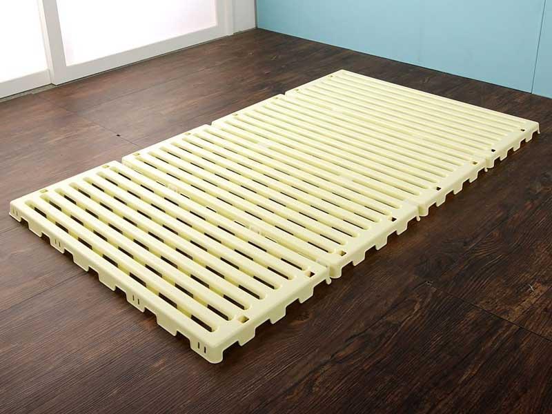 ベビー用樹脂すのこベッド