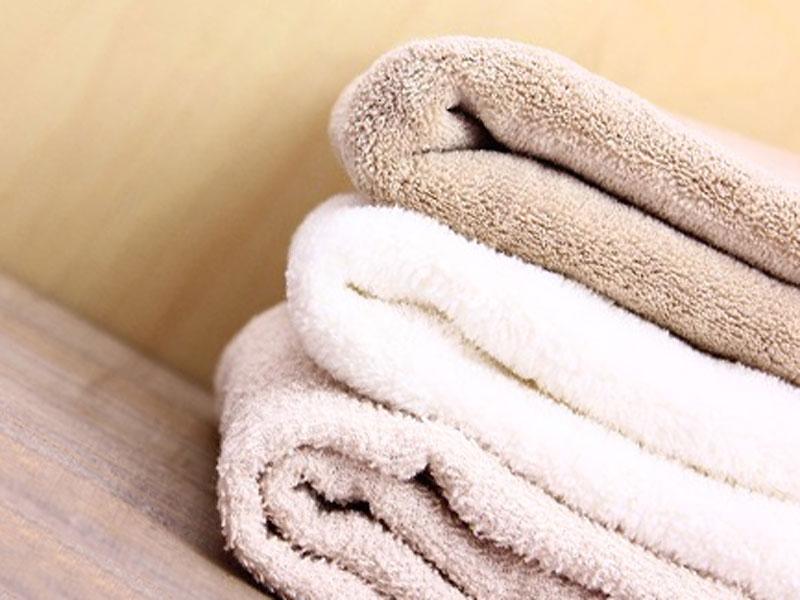 畳んでいるタオル
