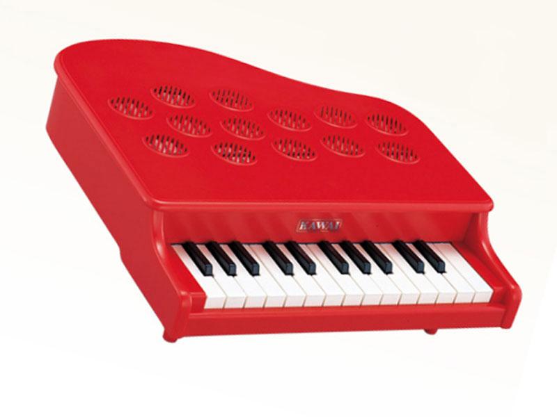 ミニピアノP-25(ローズレッド)