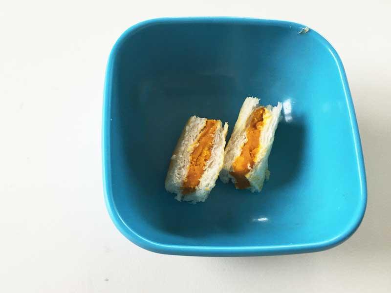 かぼちゃサンドイッチ