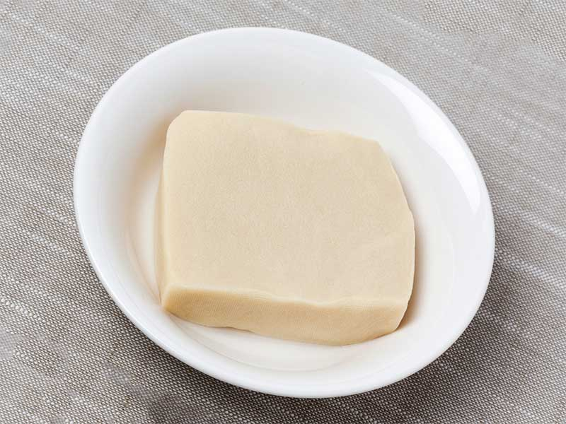 戻したプルプル高野豆腐