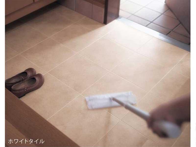 拭き掃除ができる防水玄関シート
