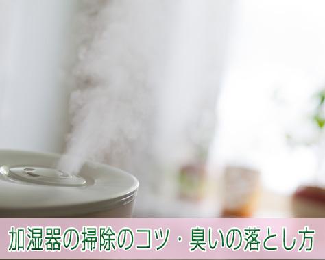 加湿器の掃除がグッと楽になるコツや水垢・臭いの落とし方