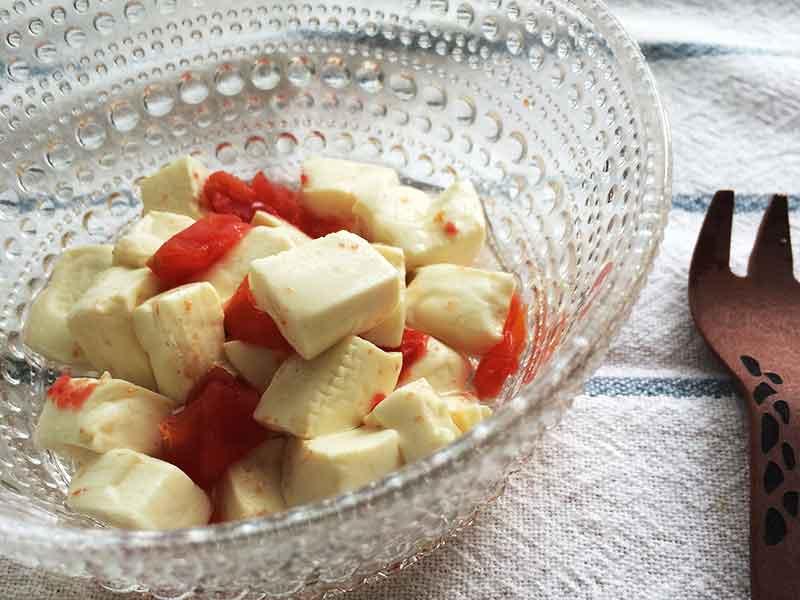 トマト豆腐