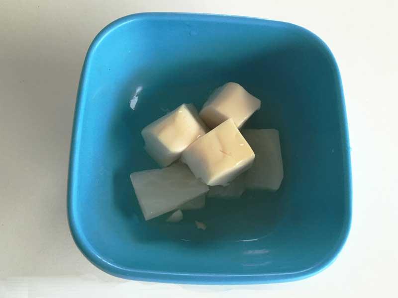 豆腐とかぶの柔らか煮