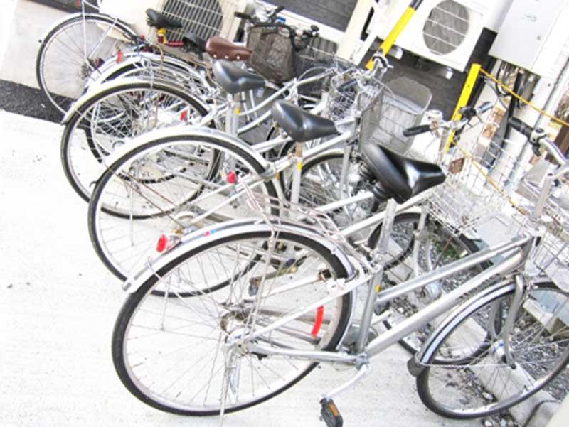 並んでいる自転車