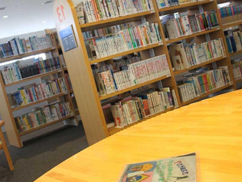 図書館の一角