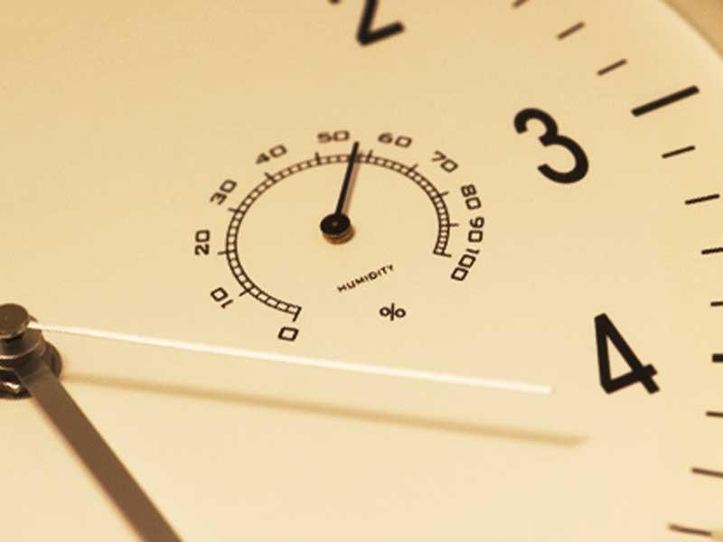 部屋用の湿度計