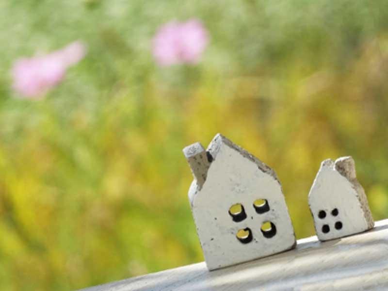 小さな家の模型