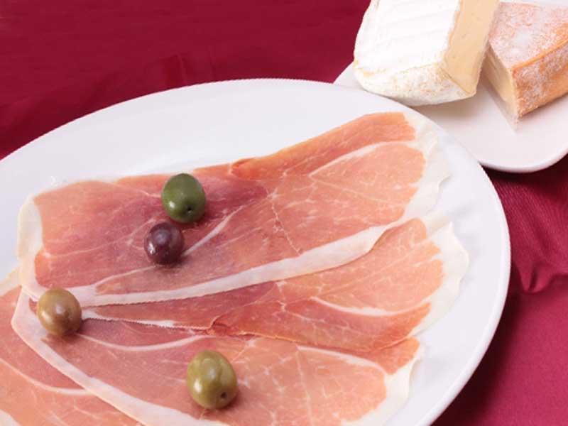 豚肉とチーズ