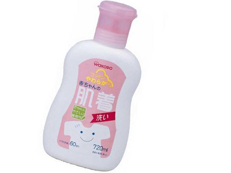 赤ちゃんの肌着洗い