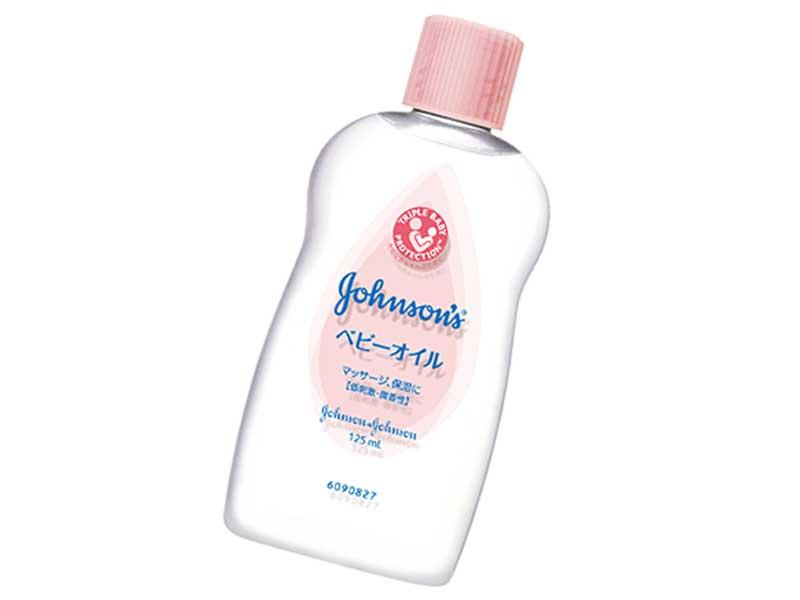 ジョンソン® ベビーオイル 微香性