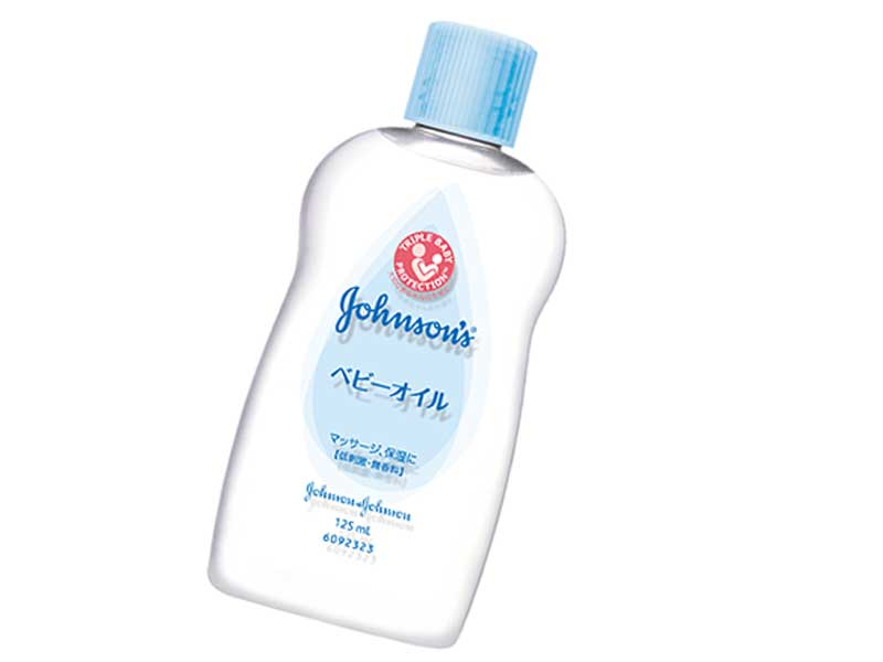 ジョンソン® ベビーオイル 無香料