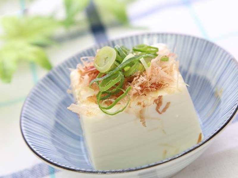 カロリーの少ない豆腐料理